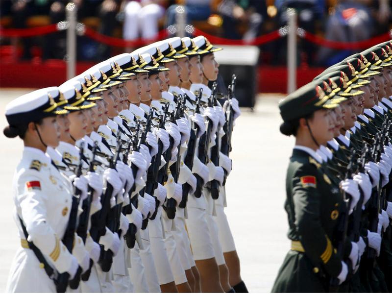 橘子视频 | 中国女兵,有一种美丽叫震撼