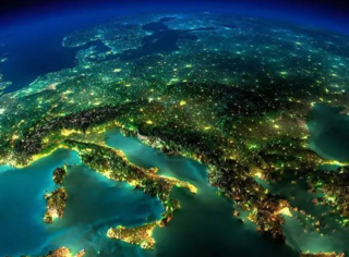 NASA航拍璀璨夜景,颜值爆表的地球君简直美哭了