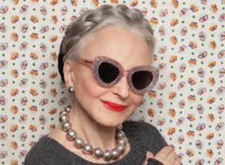 """这些""""90后""""奶奶告诉你:年龄和美有毛线关系!"""
