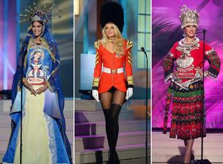 各国环球小姐被要求穿一套自己国家特色的衣服,万万没想到最后……