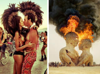这应该是世界上最疯狂,最神秘,最露骨的节日——火人节!