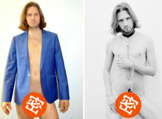 """这个艺术家每天给自己拍裸照,坚持了一年只为""""看清""""自己..."""