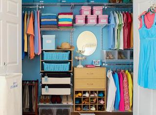 女人的衣柜这样整理,多少衣服都不会乱,太强大了!