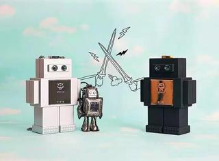 MCM又出来机器人系列,包包真的被你玩坏了