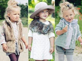 入秋不知道穿啥?这个3岁小女孩一定能给你启发!