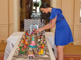 土豪!为女儿庆生准备了世界最豪华的蛋糕:4.75亿