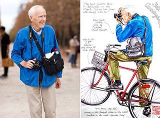 街拍居然是这个86岁的老人创造的!