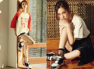 水原希子Vogue九月刊,她是痞气性感的小清新