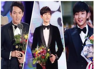 2015韩国电视剧大赏开幕 得奖的却是咱国的张翰、林依晨、钟汉良...