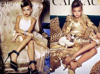 14岁模特40岁气场曾引起时尚圈震荡的童模长大了