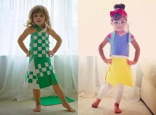 她才5岁,却是美国最天才的设计师