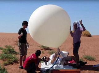他们用气球带着相机上外太空,2年后失而复得的照片震惊了全世界!