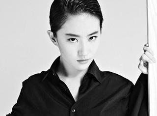 像刘亦菲一样做个美攻,甜妞儿也可以走中性风