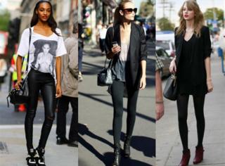打底裤请选择适合自己的款,一旦穿不好就能成火鸡腿