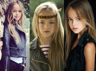 这才是真正的嫩模,10岁就惊艳了外国时尚圈