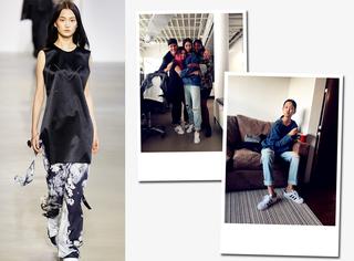 16岁超模的时装周日记 | 走秀CK,纽约周画上完美句号!