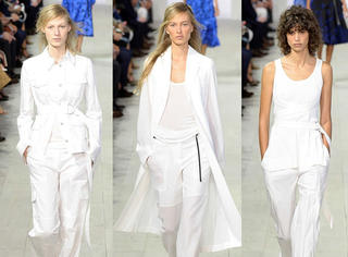 2016春夏,你必须有一件高级的小白衣!