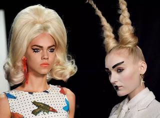 纽约时装周妆容大揭秘!模特的造型并不止浮夸的那一种~