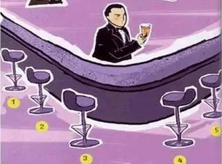 五把椅子坐哪看穿你的性格,这测试准的有点变态!