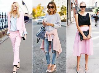 周热点| 别说粉色俗,是你不会穿