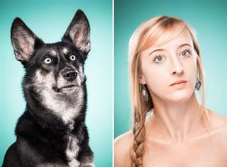 狗和主人会越来越像?一组图告诉你什么叫亲生的狗狗