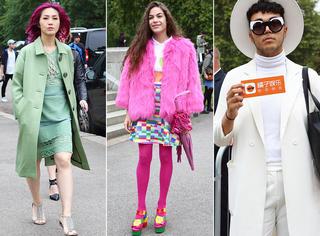 伦敦时装周独家街拍 | 杨千嬅 钟小姐 最后一天时尚咖们都来了