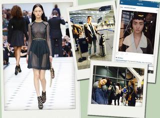 16岁超模的时装周日记 | 伦敦最后一天,紧张的奔走在秀场之间,太刺激啦!