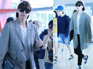 李易峰韩系机场装,卖萌扮酷怎一个帅字了得