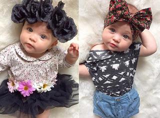 论时髦搭配,你们都被这个八个月大的baby给彻底打败了!