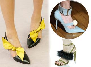 长毛又长草!这些是时装周上最有趣的鞋了!