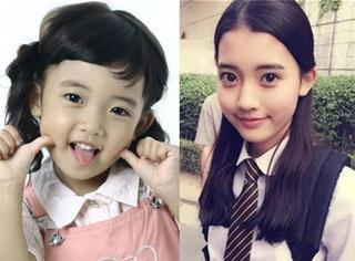 杨紫、关晓彤、蒋依依,那些没长残的童星后来都成了女神