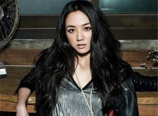 看脸 | 汤唯:性感女神玩转韩国封面  低胸网装霸气外露