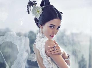 看脸 | Angelababy:跟着女神玩穿越  她把古风穿在了身上!