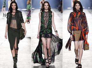Versace2016春夏 | 姑娘们!去丛林探险如何穿的又美又帅气?