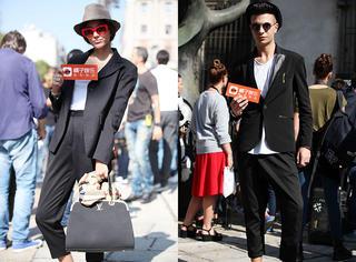 米兰时装周独家街拍 | 超级实穿的潮人搭配都在这里啦