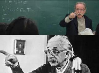 这教授长的这么像爱因斯塔,他俩到底什么关系?