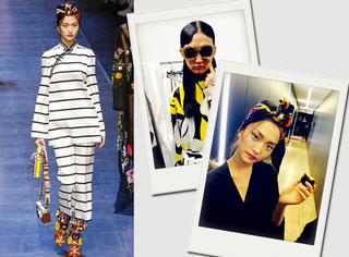 16岁超模的时装周日记 | 米兰最后一天,Dolce & Gabbana秀场简直太美啦!