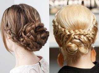 8款简单美丽的编发,改造一成不变的发型!!