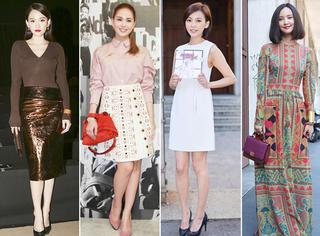 昆凌、陈意涵、张歆艺、张柏芝,米兰时装周这些明星都去了。