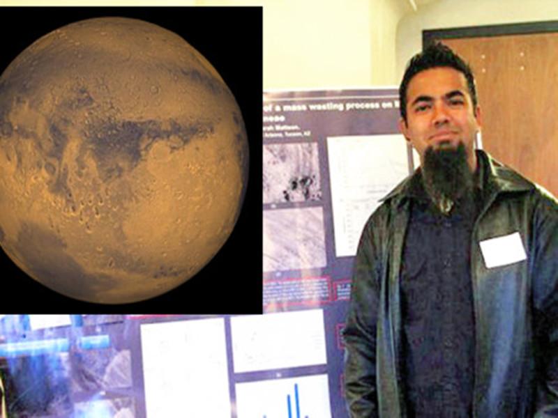 发现火星上有水的学霸竟然是个摇滚青年