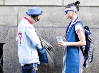 伦敦时装周街拍吐槽盛典,热点笑点看摩姐任性切换