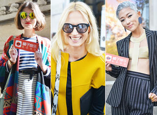 巴黎时装周独家街拍 | 场外达人教你秋天怎么穿最时髦!