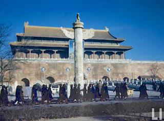 老照片 | 欢迎来到1947年彩色的北京