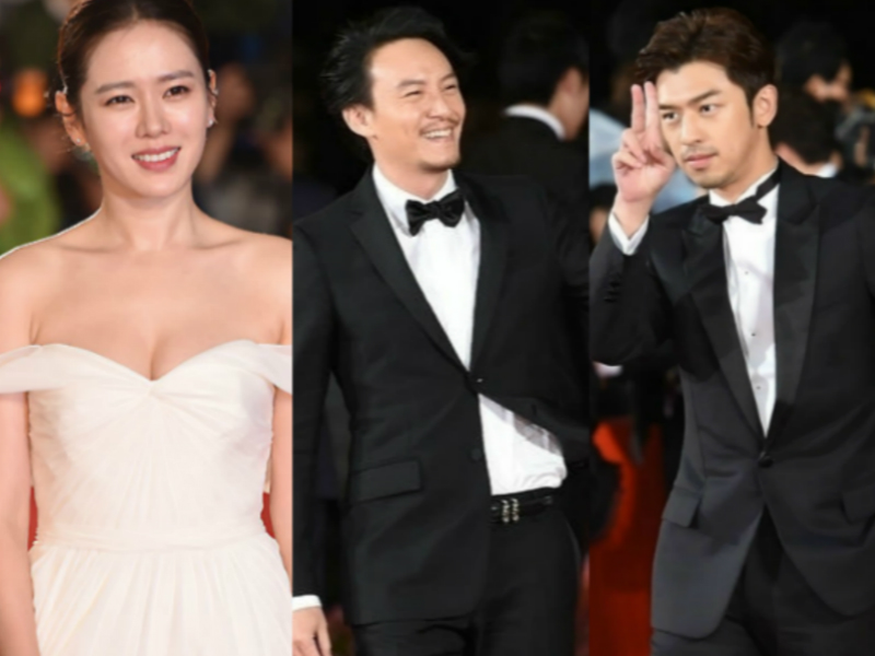 釜山电影节红毯   陈柏霖卖萌比耶,李光洙、朴宝英组成最萌身高差组合