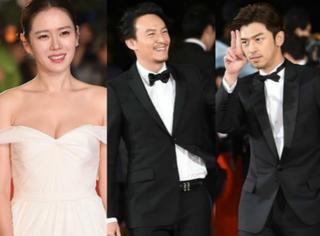 釜山电影节红毯 | 陈柏霖卖萌比耶,李光洙、朴宝英组成最萌身高差组合