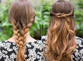懒女孩一定要学这5款发型,简单又漂亮,美哭了!