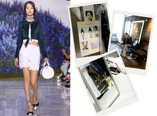 16岁的超模时装周日记|终于等到Dior的秀啦!