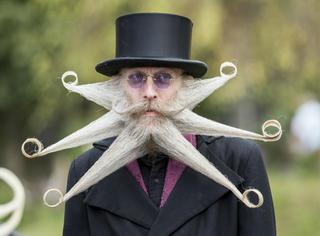 世界胡子大赛今日举行,这些奇葩的大胡子你绝对没见过!