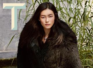 大表姐刘雯登上《T》杂志封面,刷新大满贯记录!