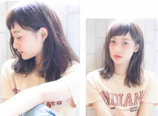 矮个子女生的首选发型——时尚俏丽中长发!